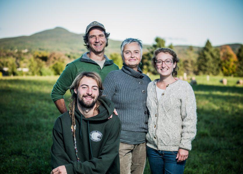 Pierre Jobin, Denise Bélanger, Nicholas et Jasmine Bélanger-Gulick (crédit photo Alain Desjean)