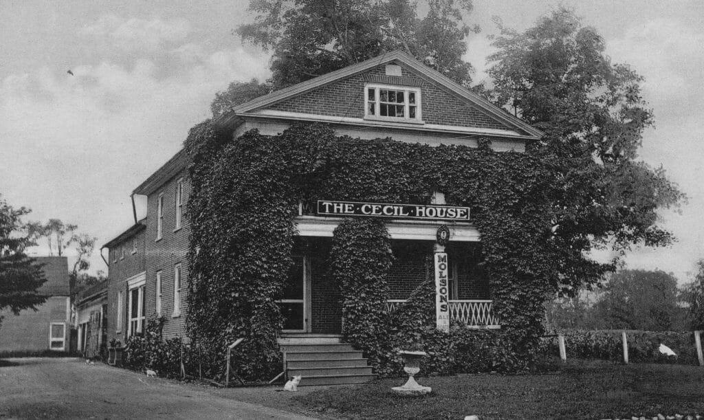 Cecil House circa 1930 MHS collections