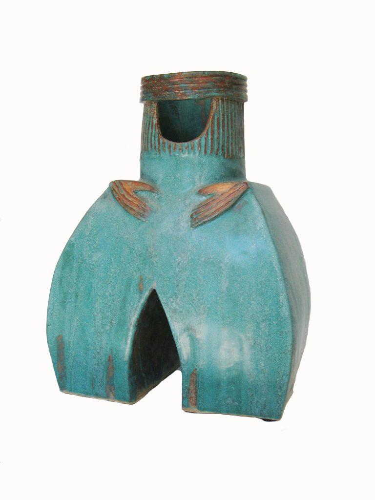 Vase sur deux jambes de Francine Lemieux