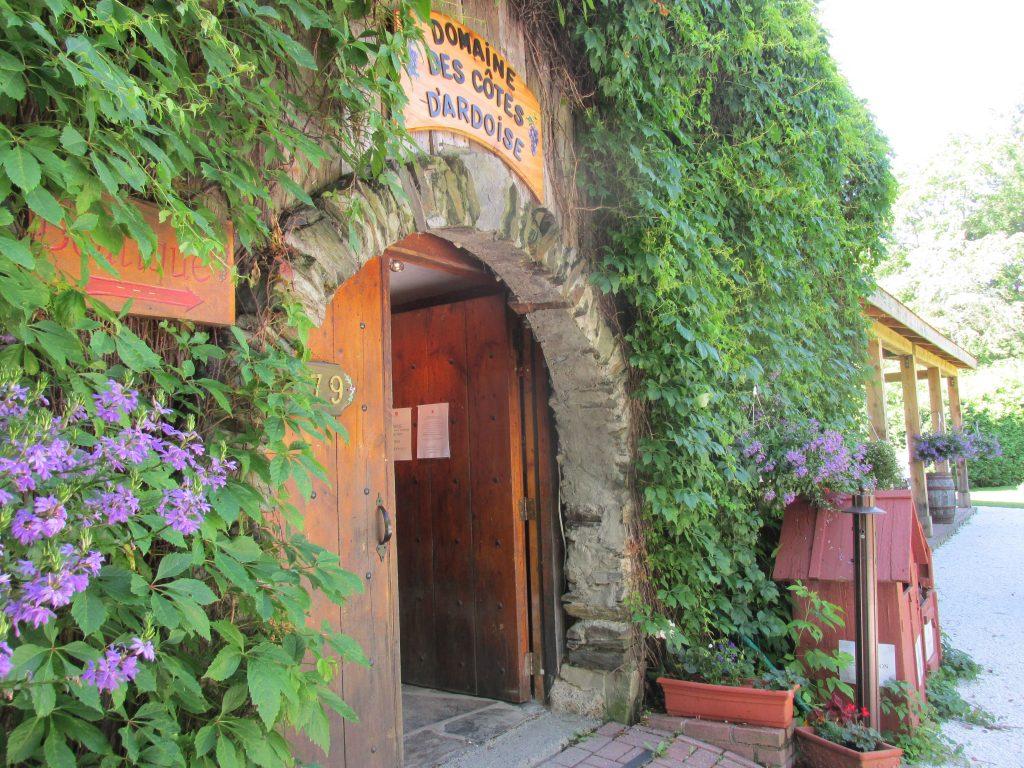 La boutique du vignoble des Côtes d'Ardoise