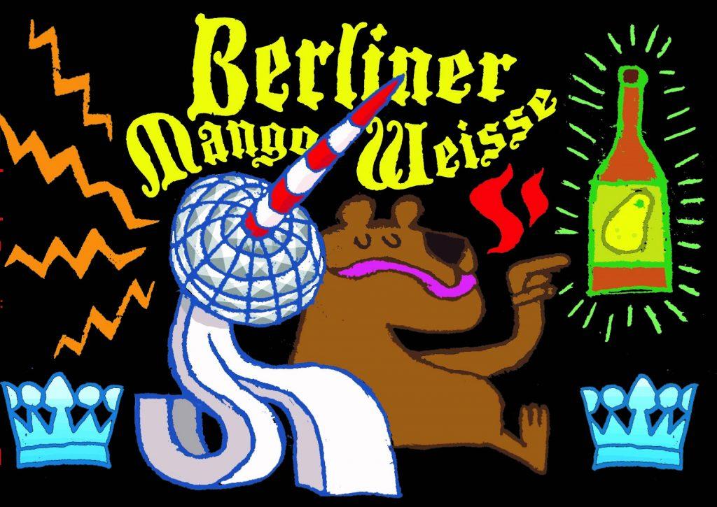 La Berliner Mango Weisse de la Brasserie Dunham