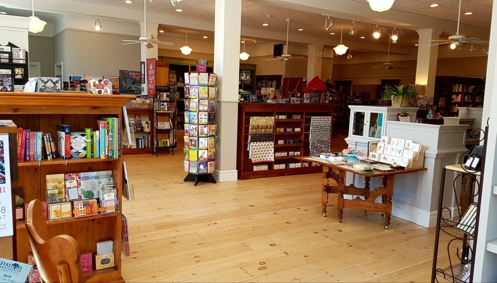 Brome Lake Books' new store on Lakeside in Knowlton