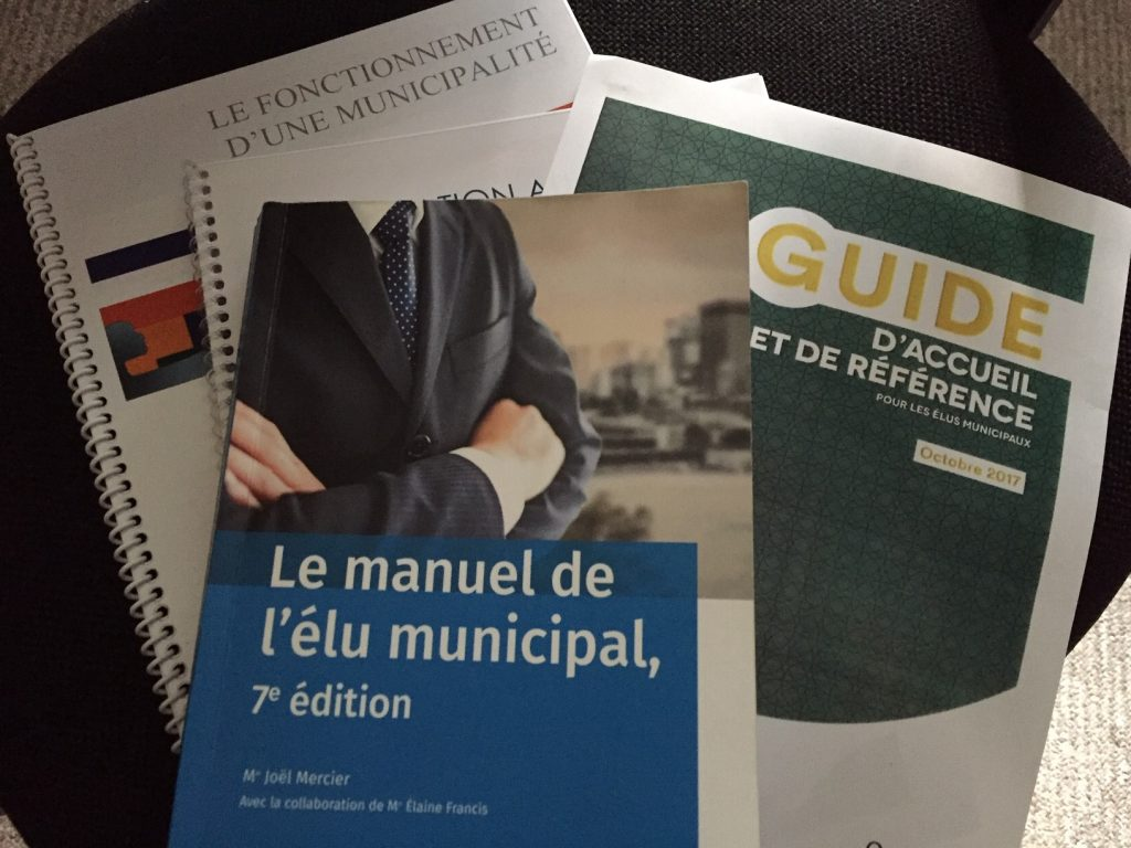 Municipal councillors' manuals