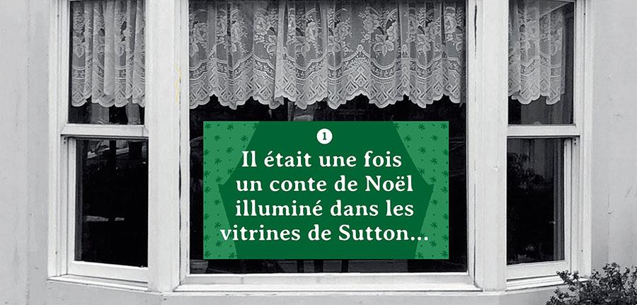 Vitrines de Noël à Sutton