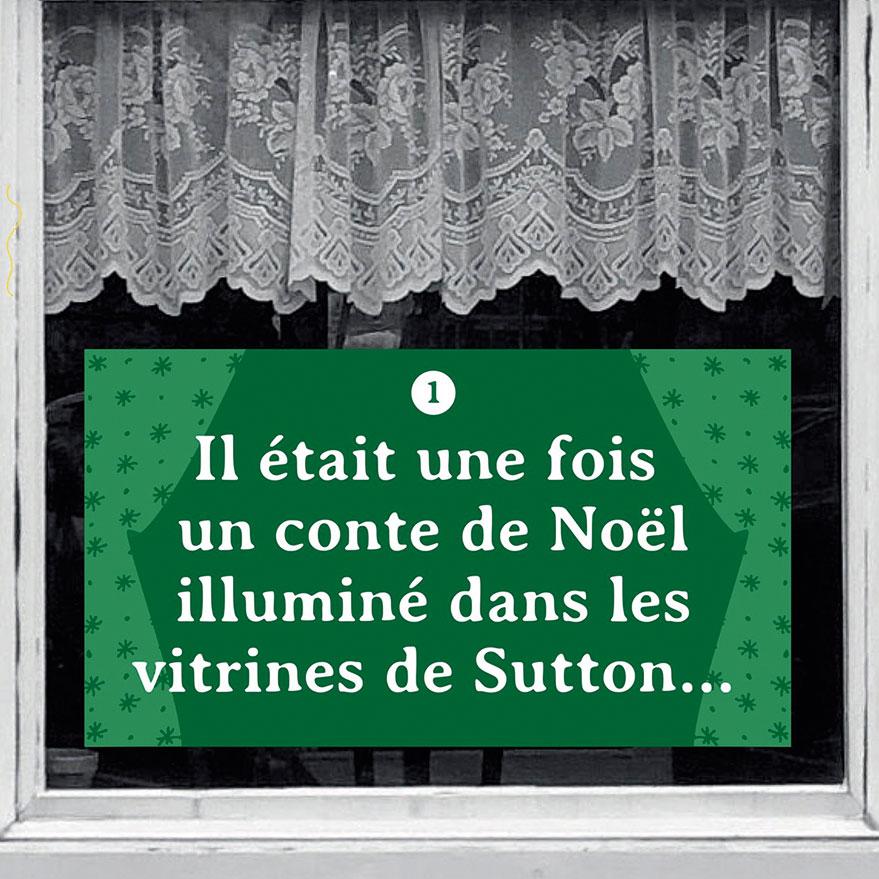 Un conte à la fenêtre Noël
